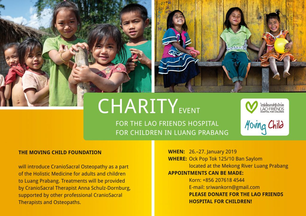 Charity Event for the Lao Friends Hospital for Children in Luang Prabang